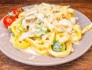 Gemelli con pollo e brocoli LUNCH