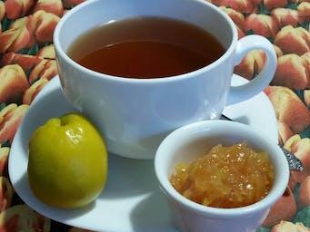 Herbata z konfiturą