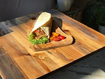 Wegański kebab