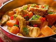 Kokosowe curry z kurczaka