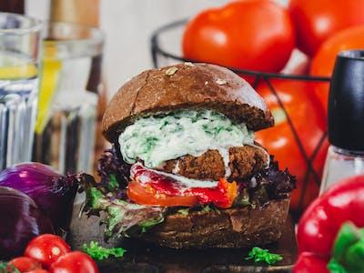 Burger Falafel Vege