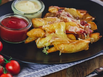 Chesse & Becon Fries