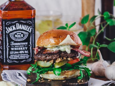 3. Jack Daniel's Burger