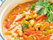 25. Warzywna curry