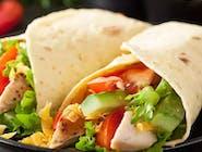 22. Tortilla kurczak Tandoori
