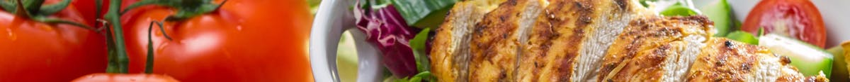 Sałatki (sosy i pieczywo do wyboru)