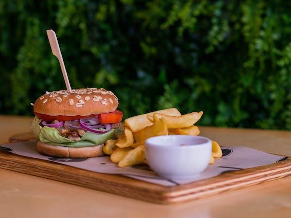 Burger Gyros Porc
