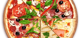 Pizza 2+1 Gratis L