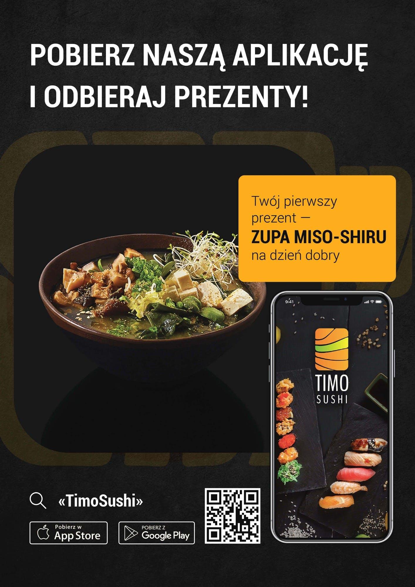 Pobierz naszą aplikację i zamów sushi w gdańsku