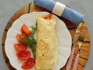 Tortilla z kurczakiem / sos czosnkoy