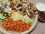 K1 Kebab Sky z ryżem