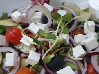 misa sałatki greckiej