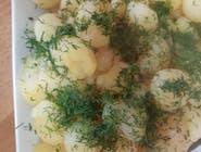 ziemniaczki gotowane z koperkiem