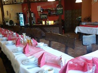 dekoracja stołów os. Oświecenia
