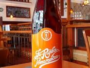 Ju-Rajska pomarańcza- Piwo o smaku czerwonej pomarańczy i malin, słodzone miodem /500ml/