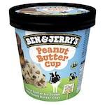 Ben & Jerry's Peanut Butter Cup 500 ml - Lody o smaku kremu orzechowego  z cukierkami z kremem orzechowym