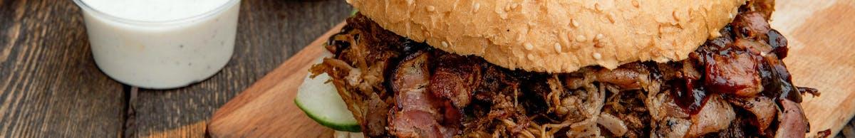 Kanapki pulled pork