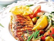 1. Grillowana pierś z kurczaka