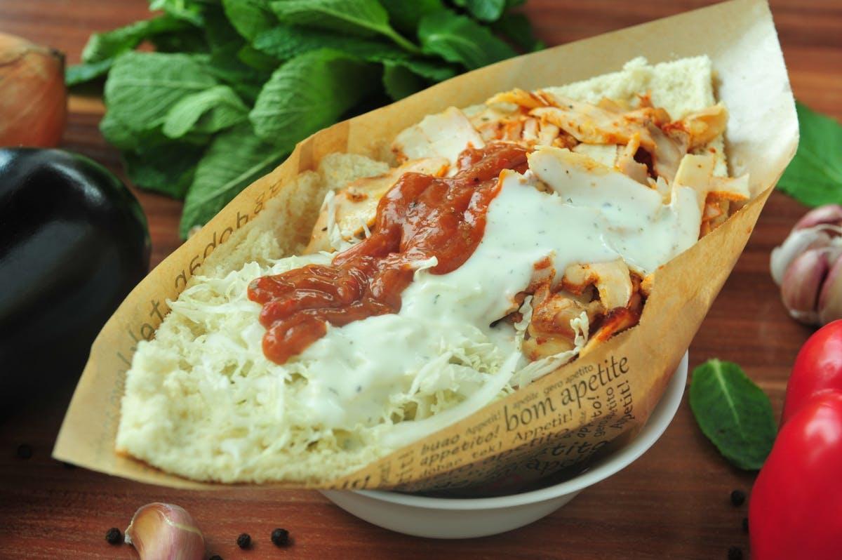 Döner kebab w bułce