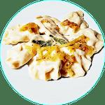 Pierogi ze szpinakiem i mozzarellą