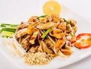 Pad Thai z kurczakiem