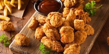 Panierowane stripsy<br>z kurczaka