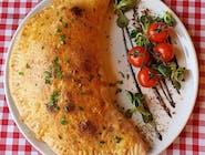 Calzone z szarpaną wołowiną