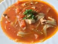 Zupa z pieczonych pomidorów z makaronem ryżowym 350 ml