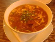 Supă acru-picantă de porc