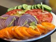 Indian Sliced Salad