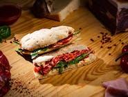 Sandwich Ventricina rucola