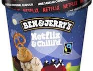 Ben & Jerrys's Netflix&chilld