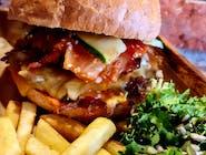 Burger Chilli Pulled Pork