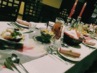 Przykładowa dekoracja stołu