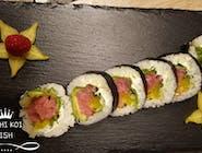 Tuńczyk, ogórek,  rzepa, sałata, serek