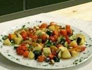 Dusená zelenina na masle