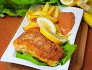 Filet rybny z frytkami