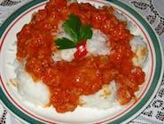 Ryż z sosem