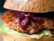 Burger warecki chutney
