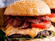 Burger warecki cheese bacon