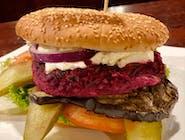 Burger warecki wegetariański