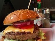 Burger warecki cheese