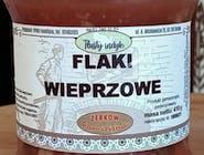 Zupa z żołądków wieprzowych ze sporą ilością suszonej czerwonej papryki słodkiej i ostrej/ z marchwią, selerem, porem i pietruszką