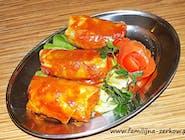 Gołąbek w sosie pomidorowym