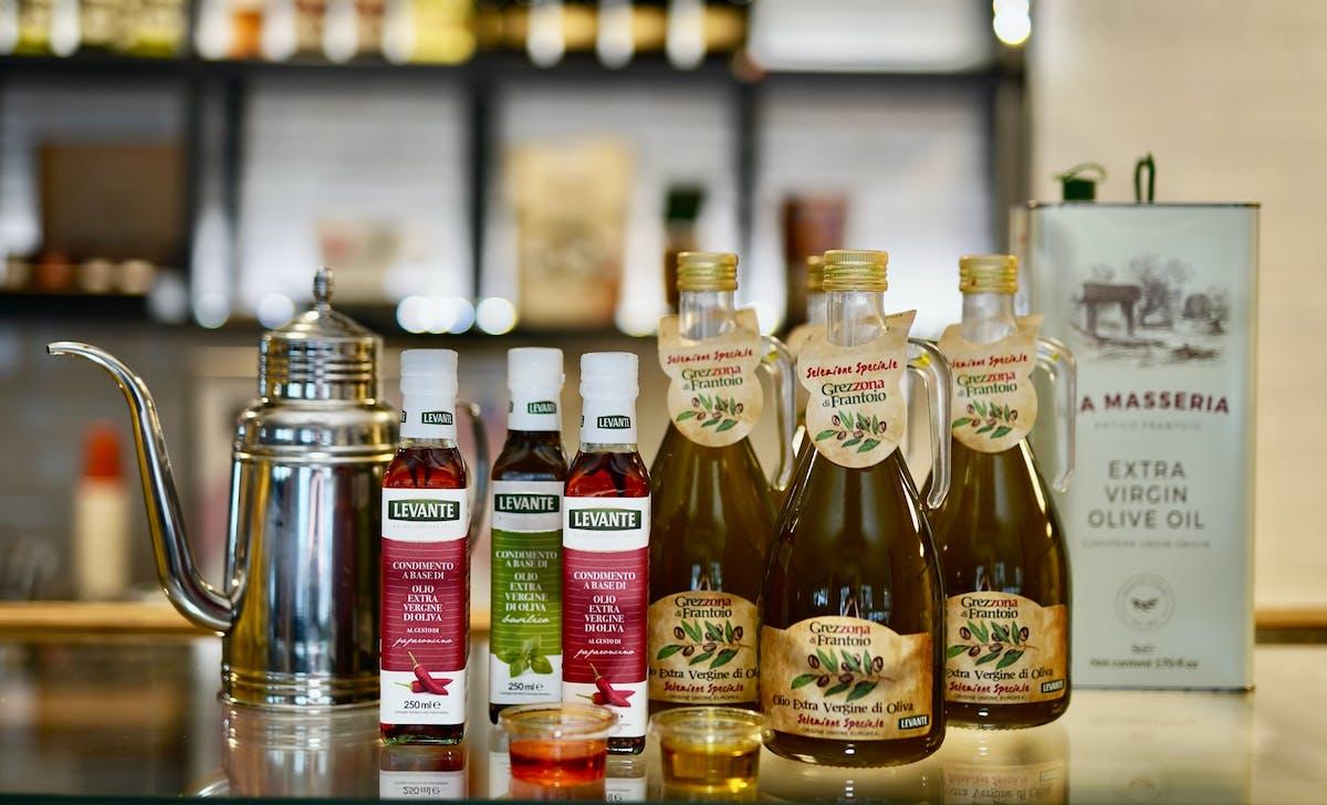 Sosy i oliwy