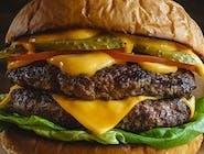 Barbecue burger dvojitý (1,3,6,7,10,11)