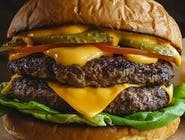 Cheese burger dvojitý