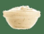 sos czosnkowy w pojemniczku