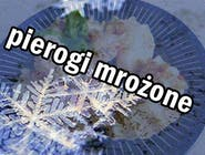 PIEROGI Z  MIĘSEM - podgotowane / zamrożone - 8szt.