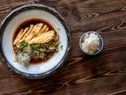 Filet z kurczaka na warzywach z woka